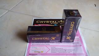 Manfaat Crystal X untuk Masalah Kewanitaan