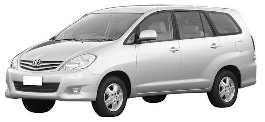 6+1 Toyota Innova car Hire : Toyota Innova Car Hire Delhi NCR