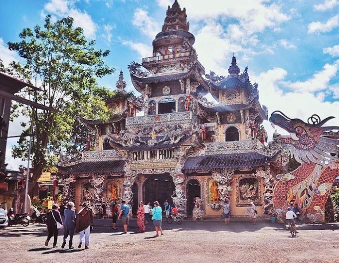 Ngôi chùa 'Ve Chai' giữ nhiều kỷ lục nhất ở Đà Lạt