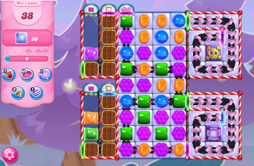 Candy Crush Saga level 8338