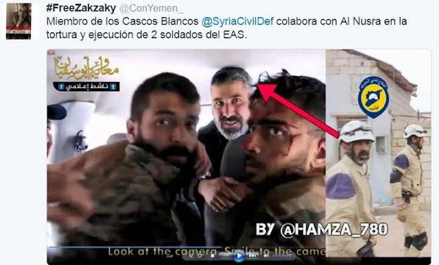 Resultado de imagen para cascos blancos siria