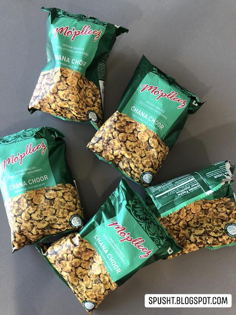 chana choor indian chickpea snack