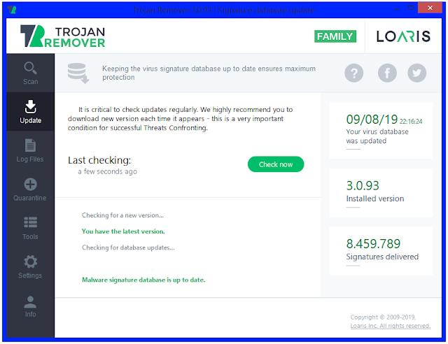Screenshot Loaris Trojan Remover 3.0.93.231 Full Version