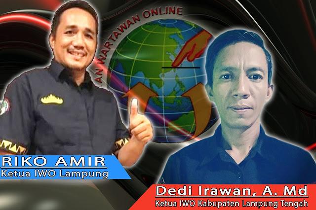 IWO Lamteng, Mendukung Ketua IWO Lampung Layangkan Surat Terbuka Untuk Pemerintah
