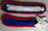 crocheted napkin rings