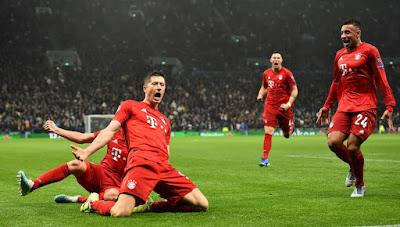 Highlight Tottenham 2-7 Bayern Munchen, 2 Oktober 2019