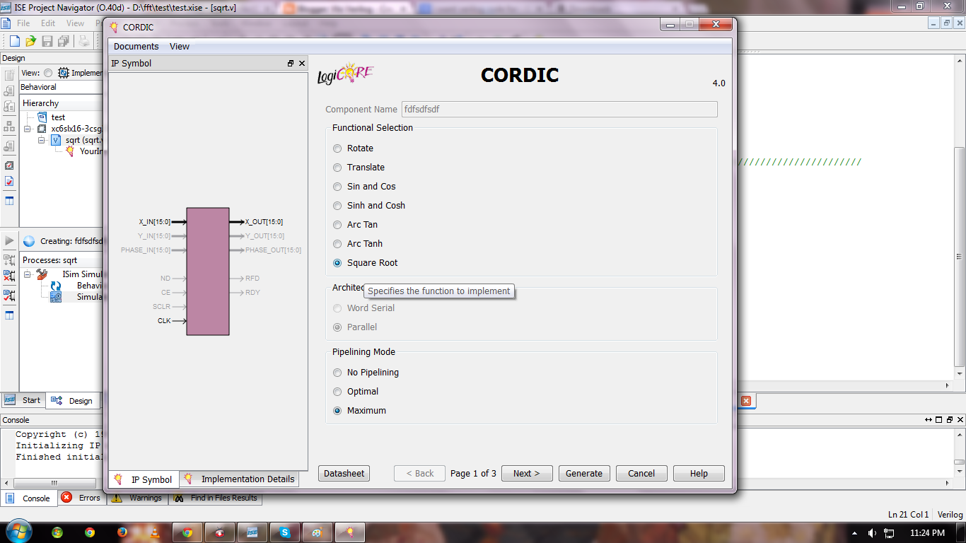 Cordic Code