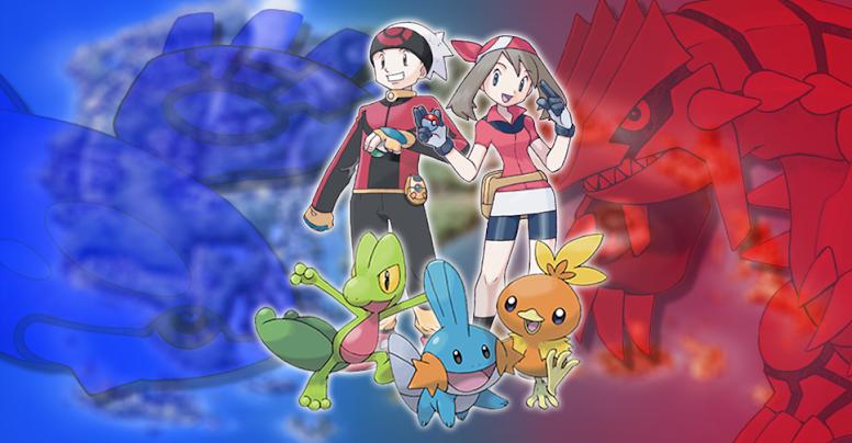 Pokémon Ruby e Sapphire Inicial