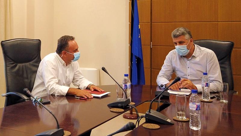 Συναντήσεις Κελέτση με φορείς του Έβρου εν όψει της λειτουργίας της Διακομματικής Επιτροπής για τη Θράκη