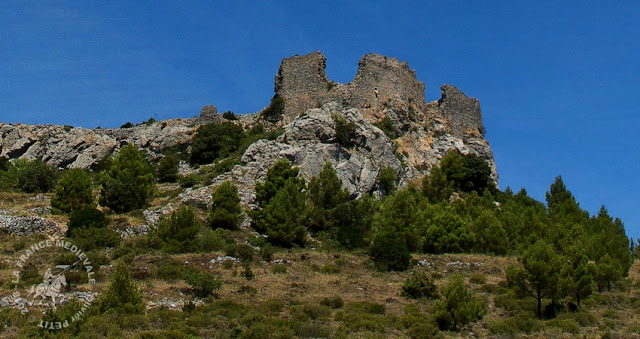 OPOUL-PERILLOS (66) - Château-fort de Salveterra (XIIe siècle)