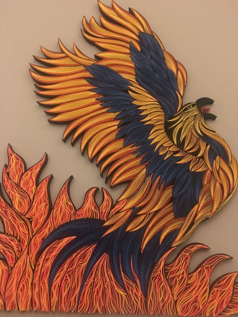 10-The-Phoenix-Rising-From-The-Ashes-Tatiana-People-and-Animal-Portraits-plus-Flower-Quilling-www-designstack-co