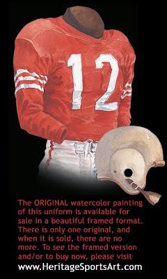 San Francisco 49ers 1952 uniform