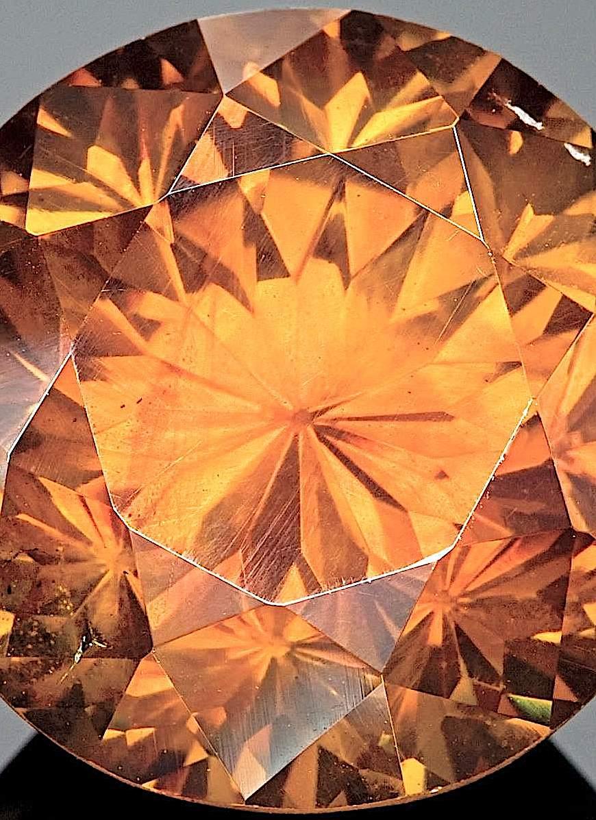 cut Sphalerite, a color photograph