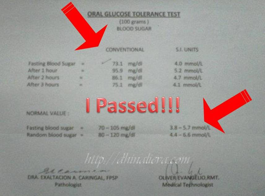 The glucose/OGCT is being done during the 5th-6th month of pregnancy. The  urinalysis is being done anytime, until the result becomes desirable.