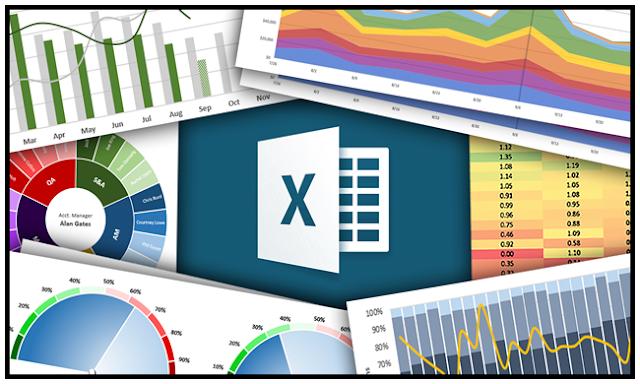 دورة إحترافية مجانية لتعلم المخططات والرسوم البيانية على  Microsoft Excel  مع  شهادة مجانية