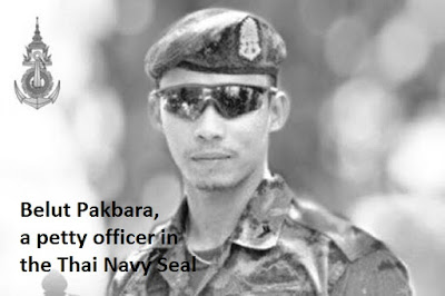 Belut Pakbara, a petty officer in the Thai Navy Seal,