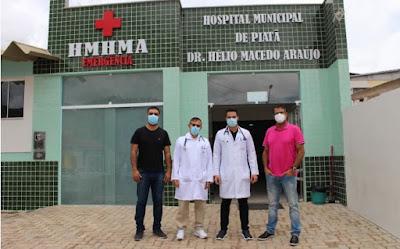 Piatã/BA: Prefeitura contrata novo médico para atuar Hospital Municipal  e na UBS do distrito de Cabrália