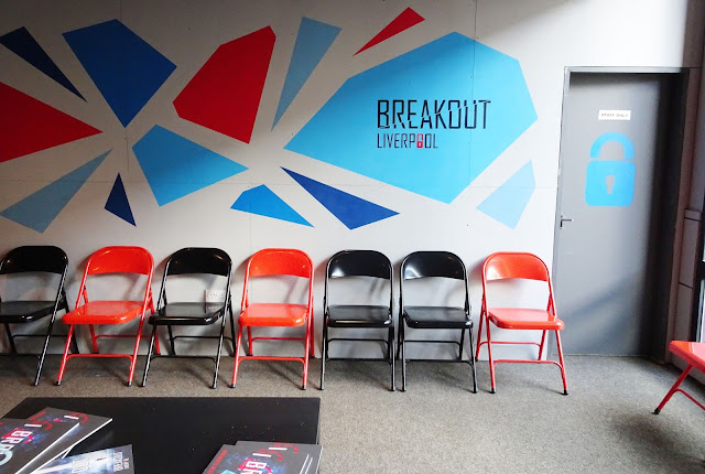 Breakout Liverpool waiting area