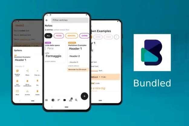 Bundled Notes - Μία τρομερή δωρεάν εφαρμογή για σημειώσεις σε Android smartphones