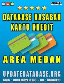 Jual Database Nasabah Kartu Kredit Medan