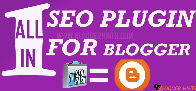 All In one Smart SEO Plugin For Blogger