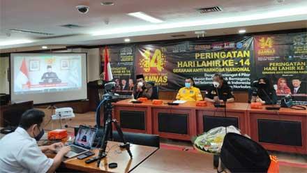 Ulang Tahun ke-14 Gerakan Anti Narkoba Nasional