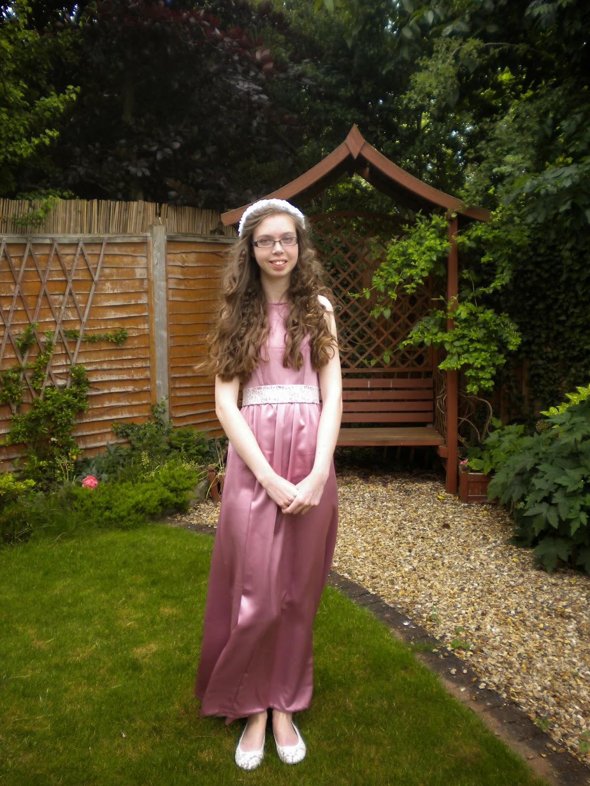 lady sewalot my prom dress