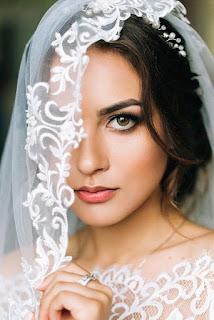 صورة طرحة العروسة شيك جداً