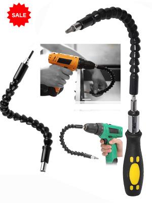 Flexible Screwdriver Snake Bit Drill Extender