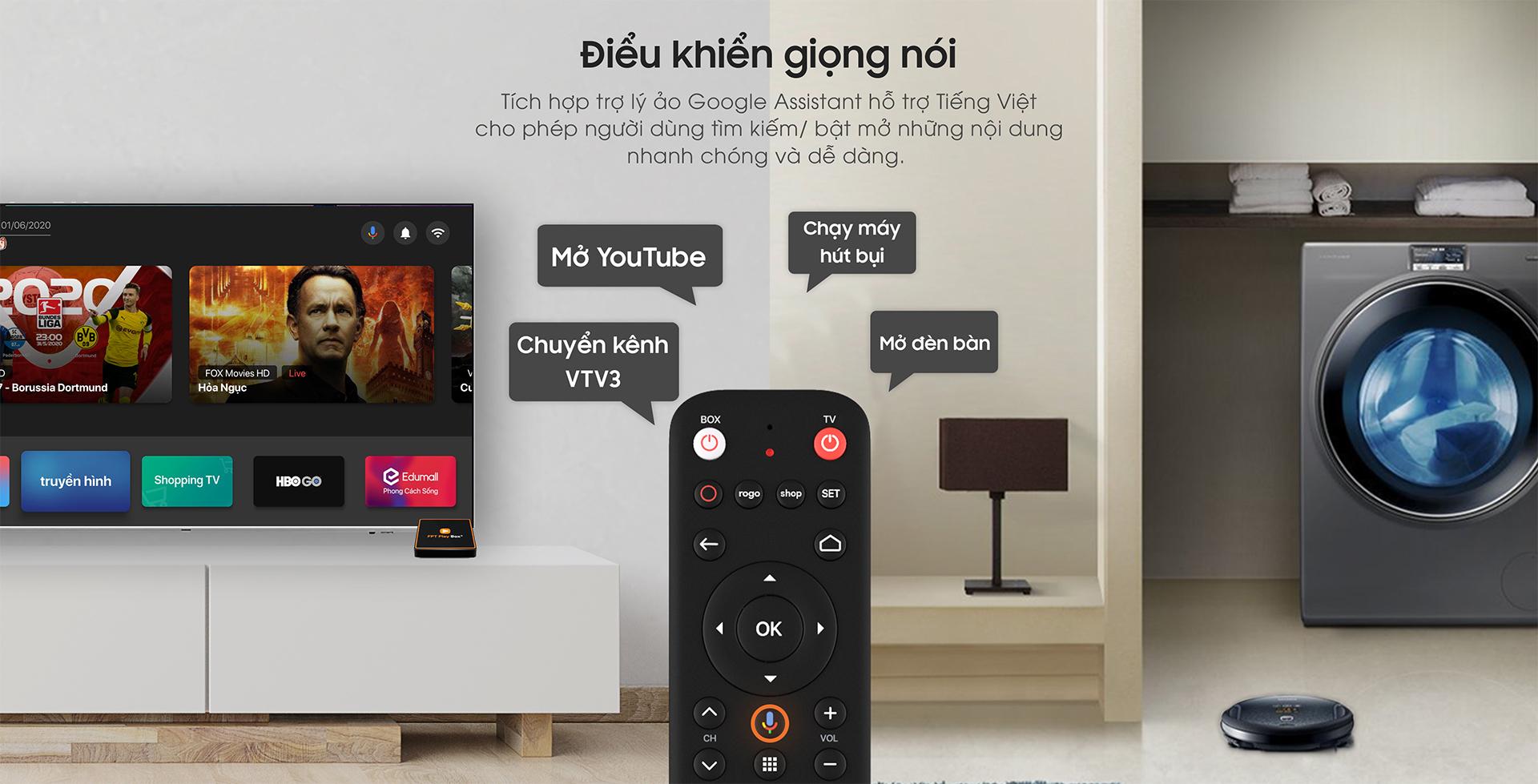 Tìm kiếm giọng gói với FPT Void Remote