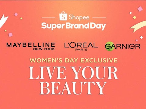 Celebrate International Women's Day with Shopee and L'Oréal
