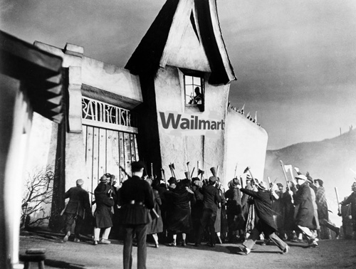 Wailmart courtesy of Son of Frankenstein (1939)