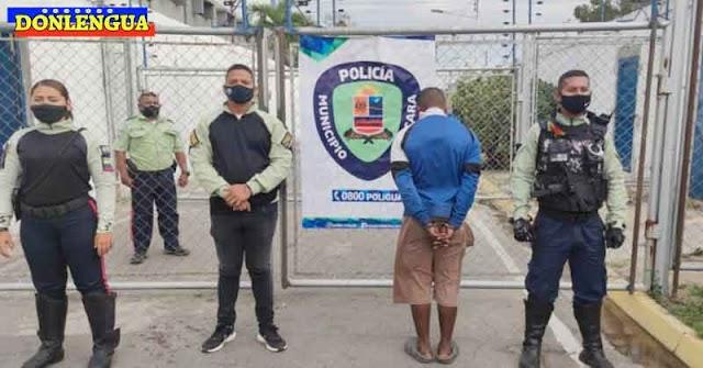 Militante Chavista detenido por abusar a su hijastra de 13 años en varias ocasiones en Guacara