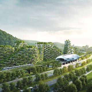 Warte podziwu: Chińczycy budują miasto z 40 000 drzew, które walczy ze smogiem!