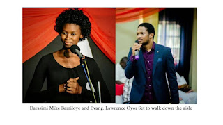 Just In: Darasimi Mike Bamiloye and Lawrence Oyor set to walk down the aisle