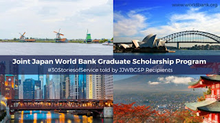 Joint Japan/World Bank Graduate Scholarship Program 2020