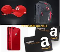 Logo Concorso Brembo ''Xtra Play Xtra Win'':  vinci gratis ogni giorno buoni Amazon, zaini e non solo