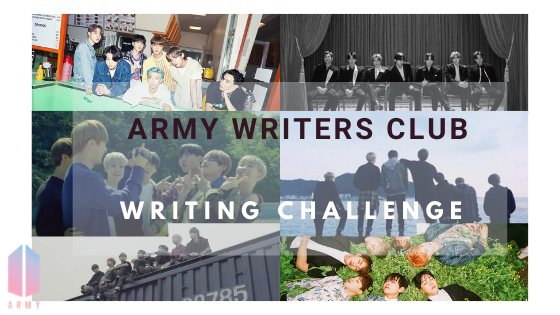 ARMY Writer Club Challenge #1: Write 864 words in 36 minutes