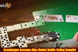 Situs Sbobet Mobile Online Indonesia Dengan Lisensi Sah