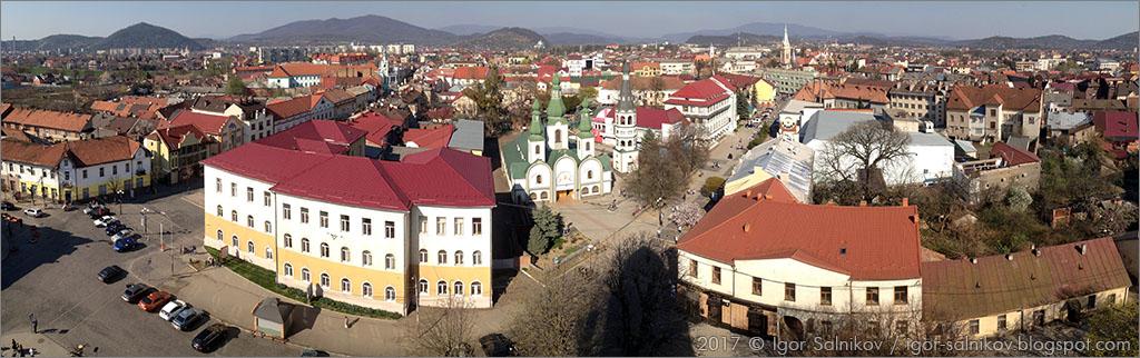 что посмотреть в Мукачево достопримечательности панорама