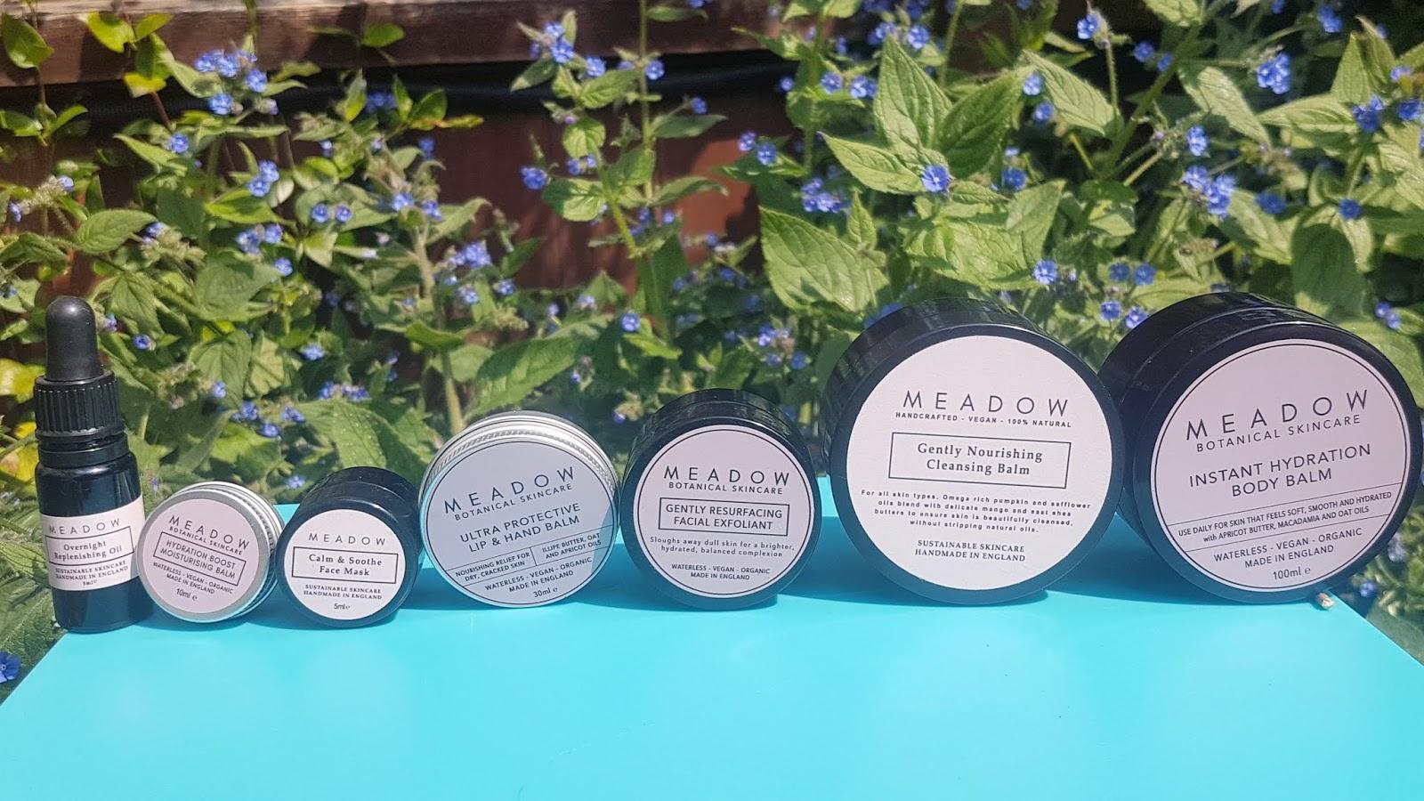 Meadow Skincare Review - vegan natural skincare brand UK