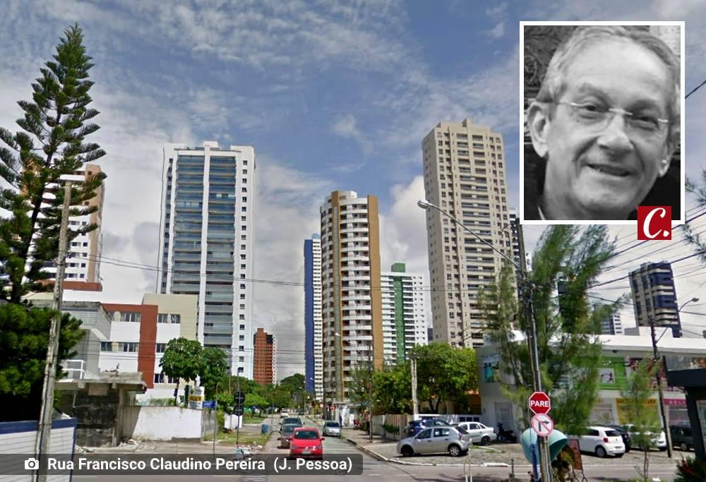 literatura paraibana descaso urbano rua francisco claudino pereira manaira