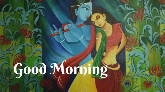 radha krishna good morning images download