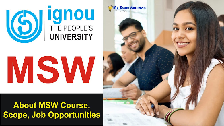 IGNOU MSW Scope, Job Opportunities after IGNOU MSW