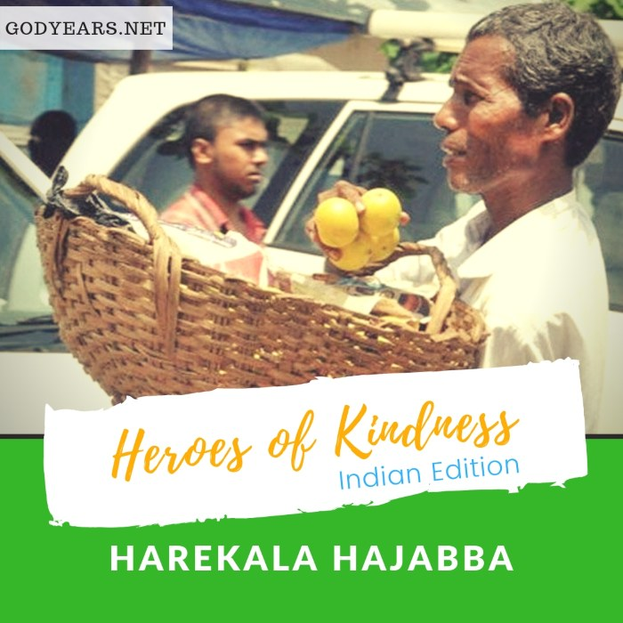 For decades, Harekala Hajabba saved money from the oranges he sold on the streets of Mangalore to build a school in his village