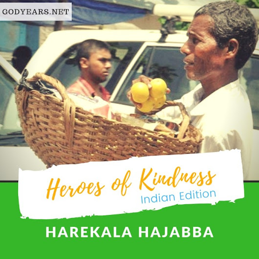 Harekala Hajabba: The street vendor who built a school by selling oranges #IndianHeroes