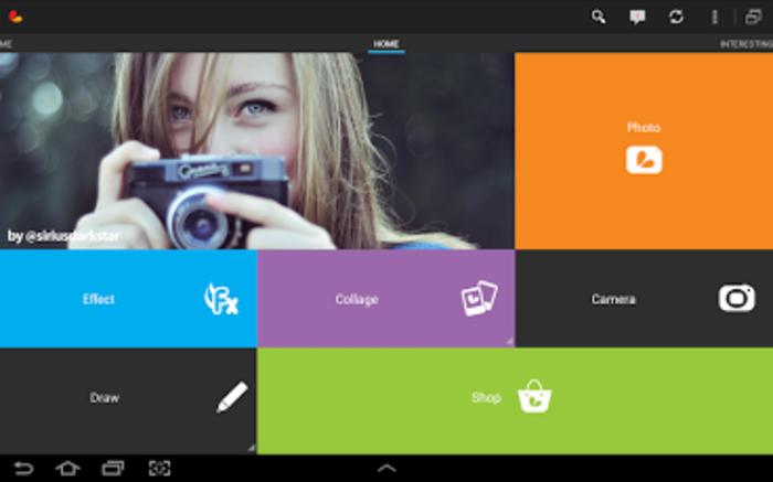 Aplikasi Edit Foto Terbaik Untuk HP Android Gratis - PicsArt