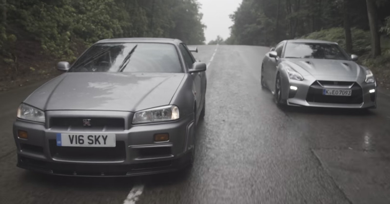 How the Modern-day Nissan GT-R Compares to the Legendary R34 Skyline