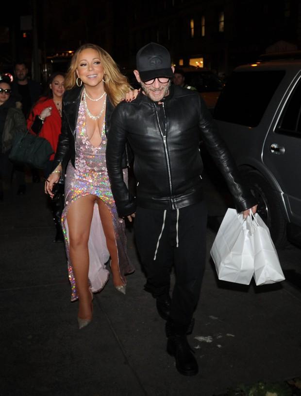 Mariah Carey pelada