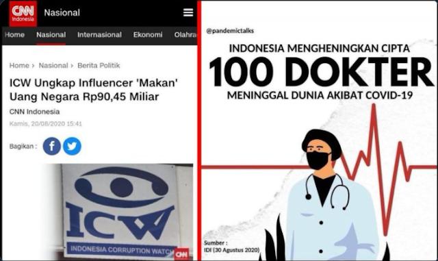 Beda Nasib Dokter dan Influencer
